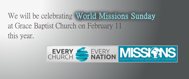 World Missions Sunday
